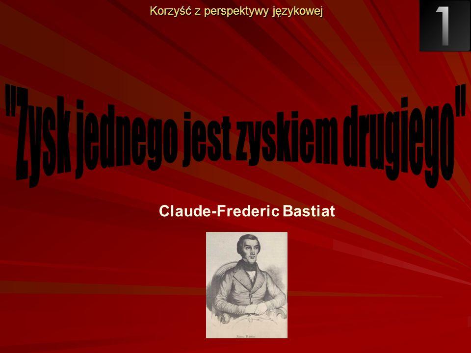 Claude-Frederic Bastiat