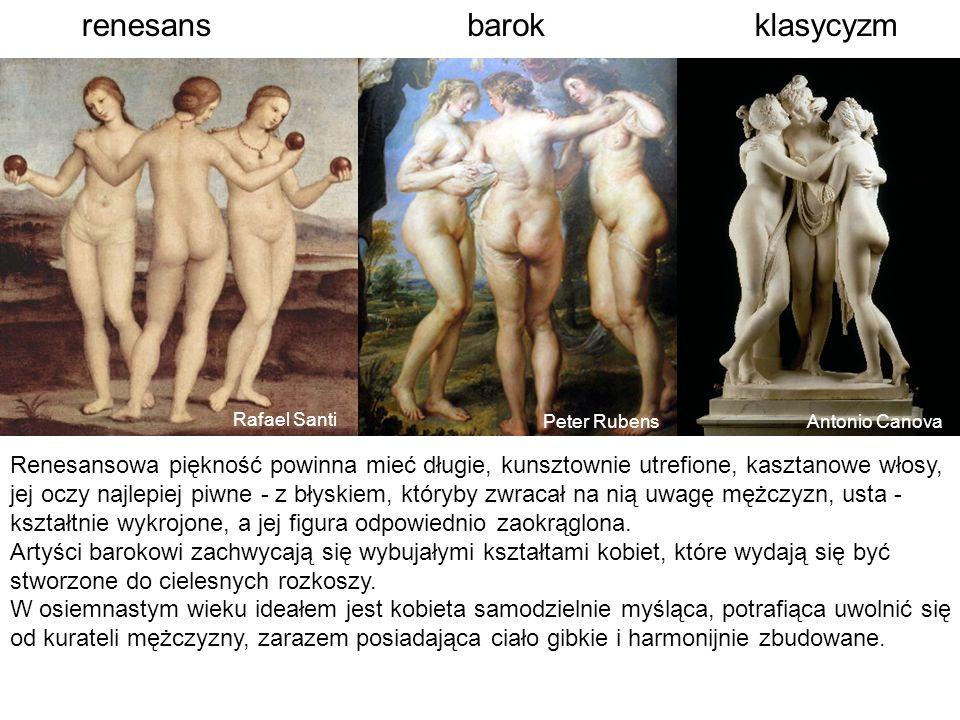 renesans barok klasycyzm