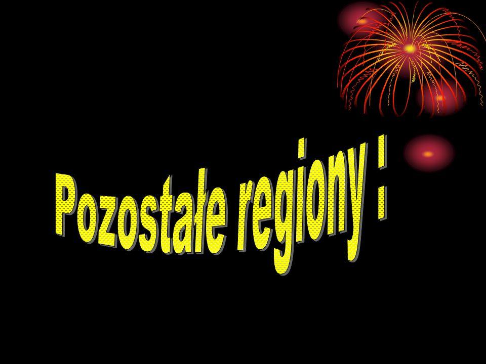 Pozostałe regiony :