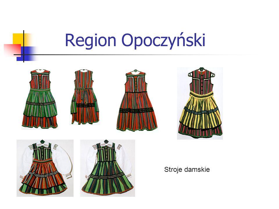 Region Opoczyński Stroje damskie