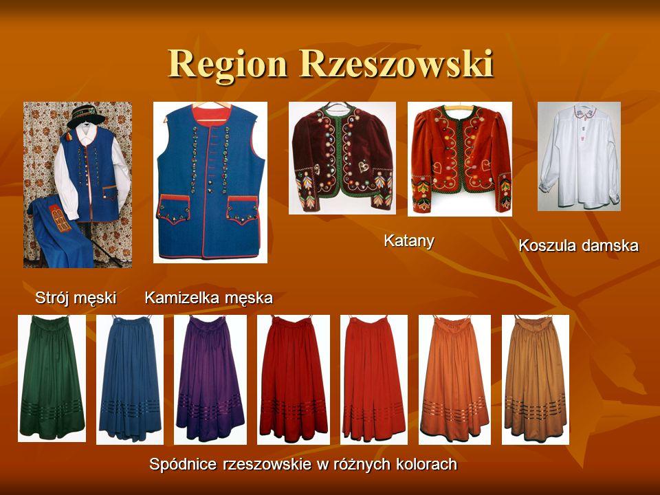 Region Rzeszowski Katany Koszula damska Strój męski Kamizelka męska