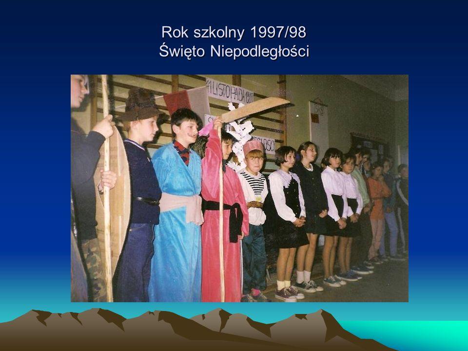Rok szkolny 1997/98 Święto Niepodległości