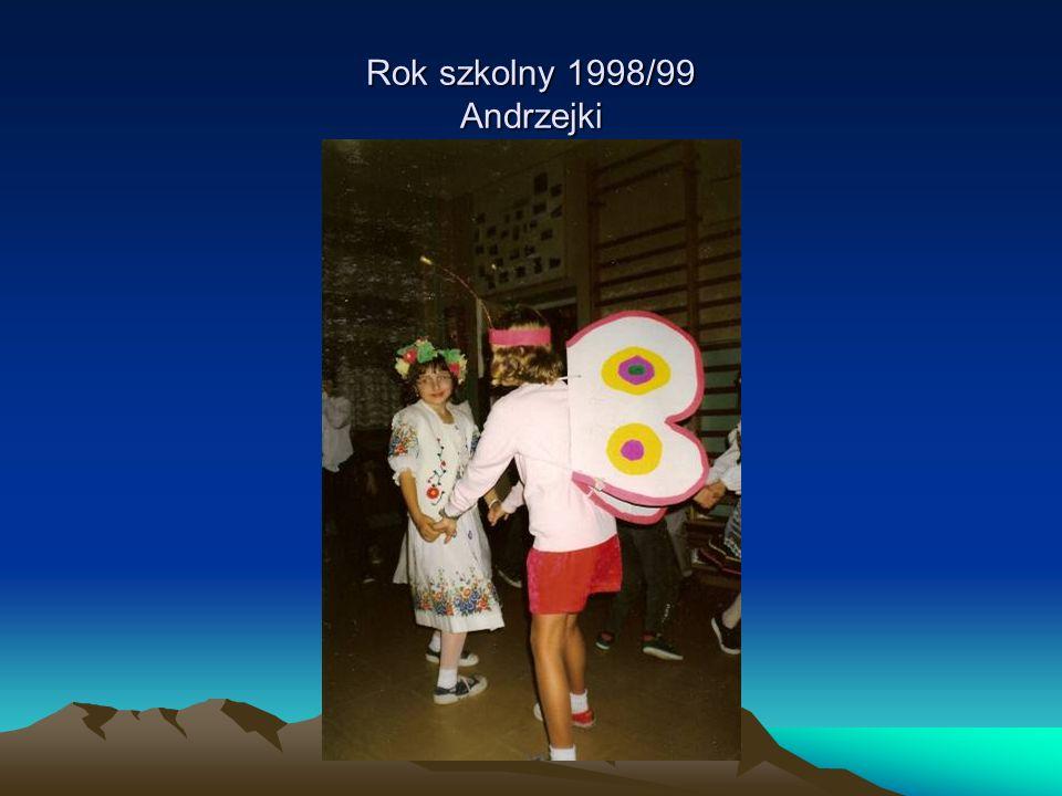 Rok szkolny 1998/99 Andrzejki
