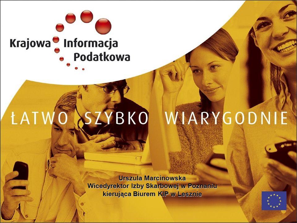 Wicedyrektor Izby Skarbowej w Poznaniu kierująca Biurem KIP w Lesznie