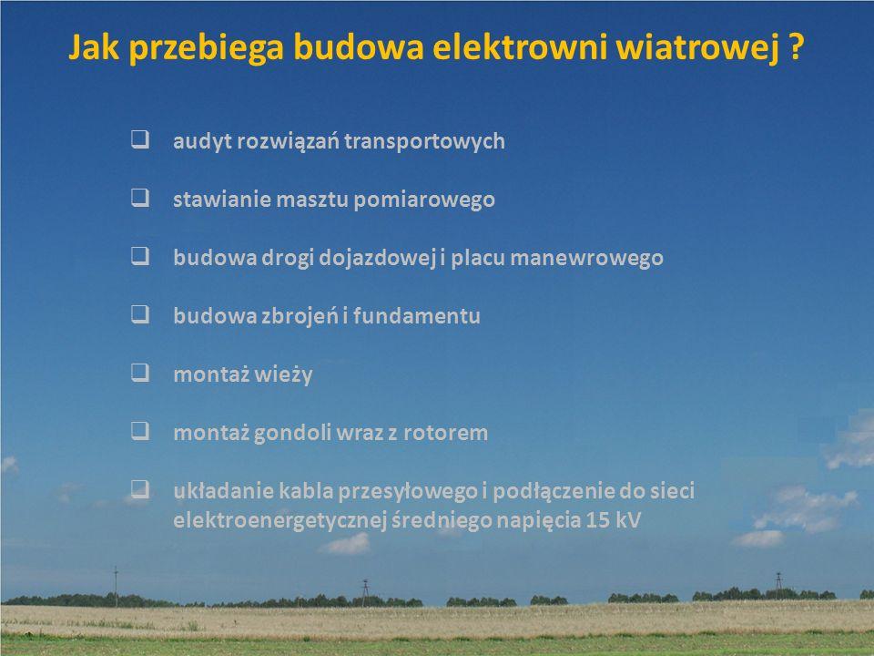 Jak przebiega budowa elektrowni wiatrowej