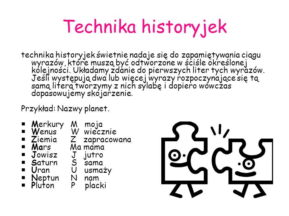 Technika historyjek