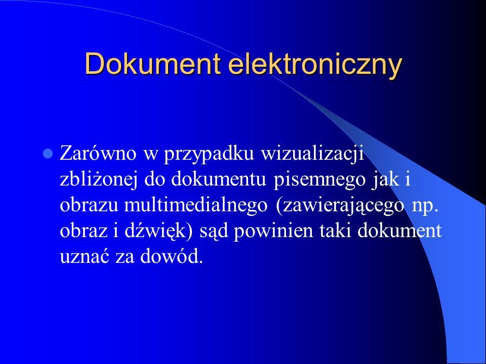 Dokument elektroniczny