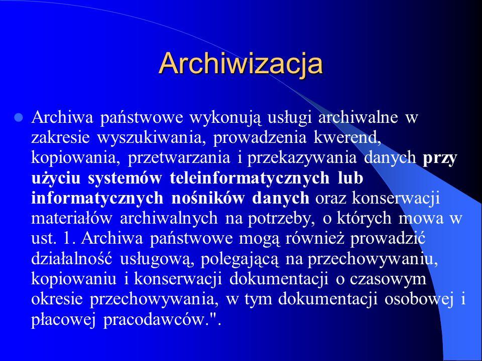 Archiwizacja