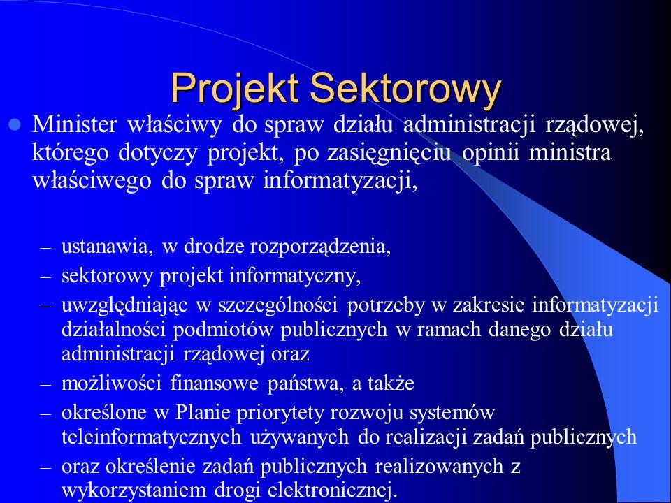 Projekt Sektorowy