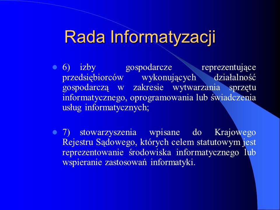 Rada Informatyzacji