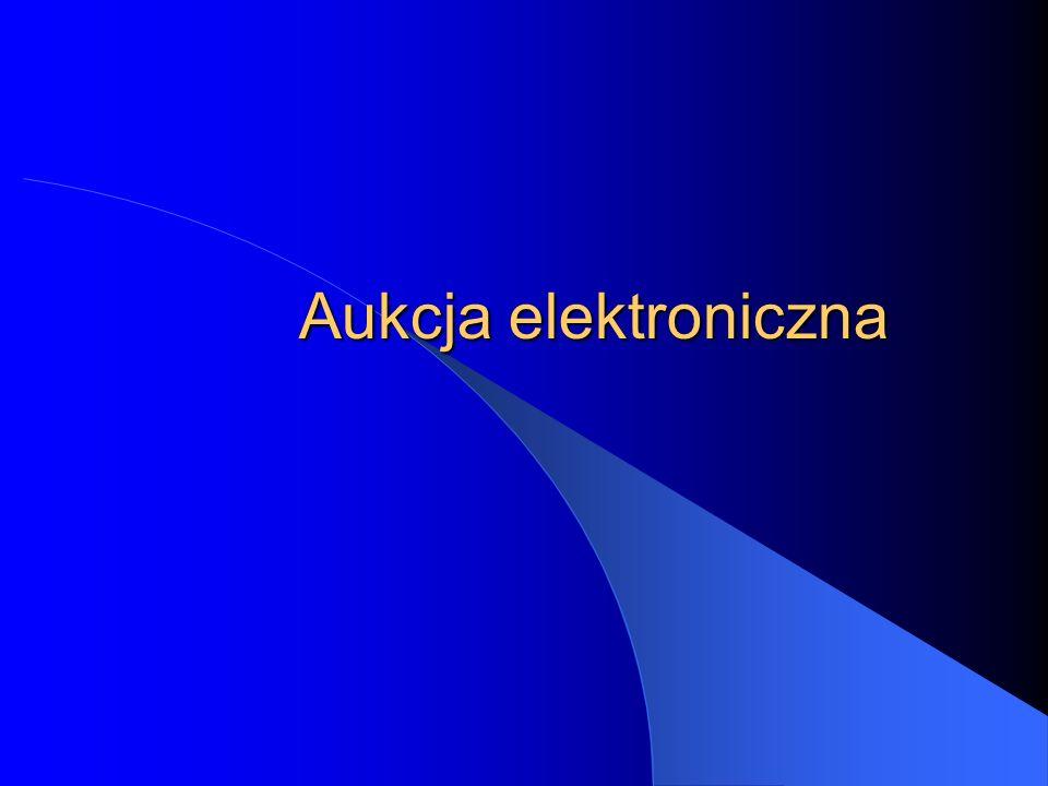 Aukcja elektroniczna