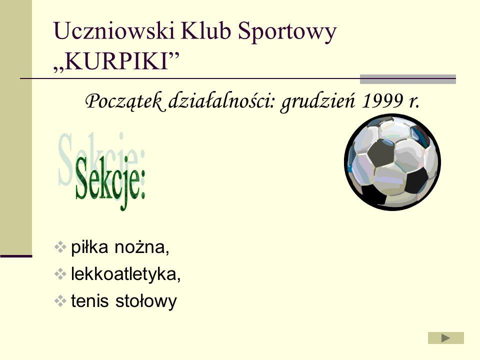 """Uczniowski Klub Sportowy """"KURPIKI"""