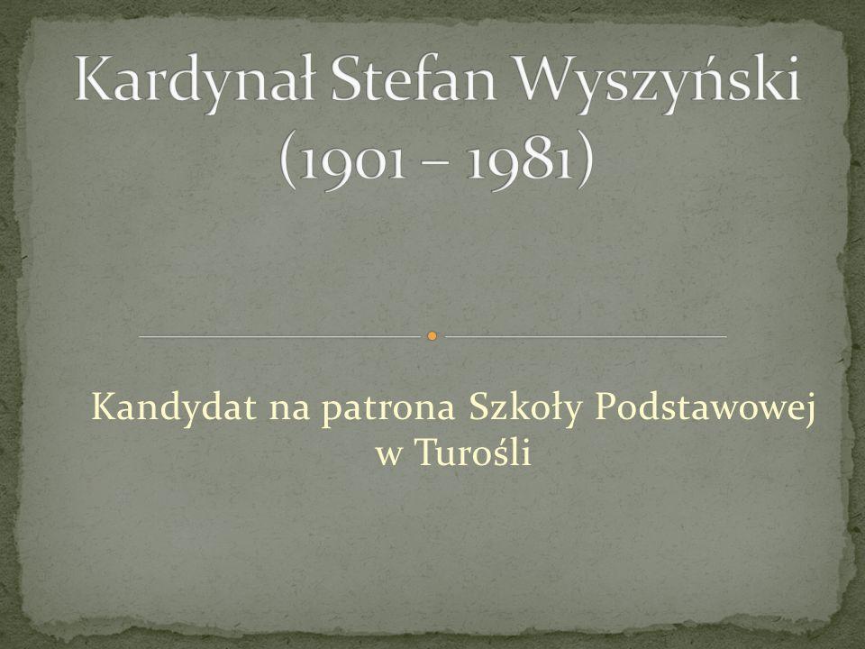 Kardynał Stefan Wyszyński (1901 – 1981)
