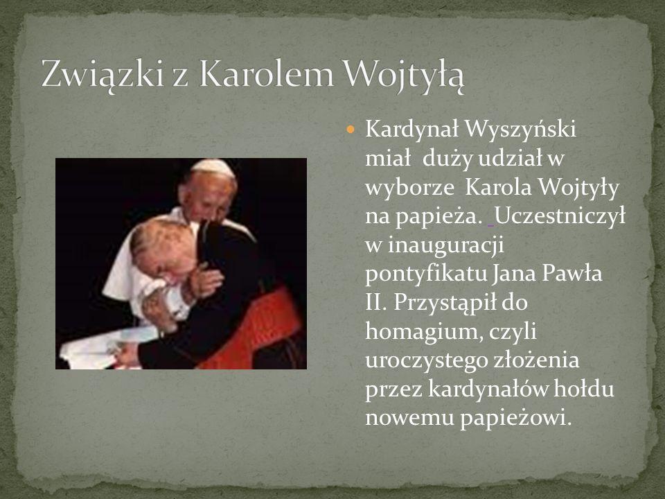 Związki z Karolem Wojtyłą