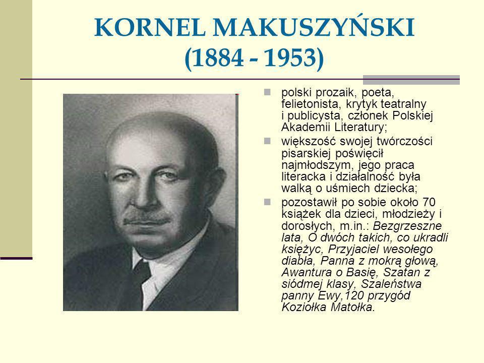 KORNEL MAKUSZYŃSKI (1884 - 1953)