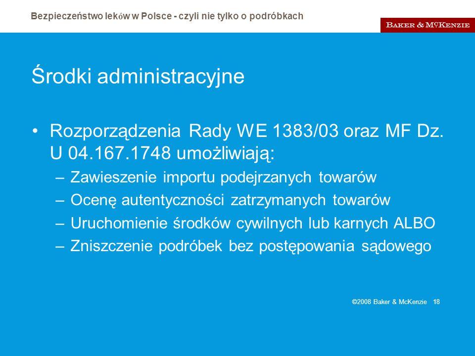 Środki administracyjne