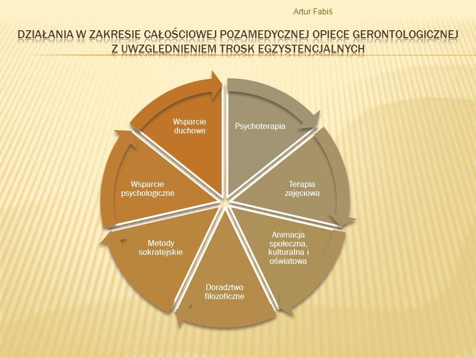 Artur Fabiś Działania w zakresie całościowej pozamedycznej opiece gerontologicznej z uwzględnieniem trosk egzystencjalnych.