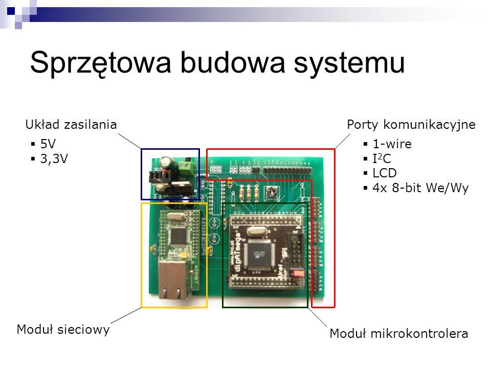Sprzętowa budowa systemu