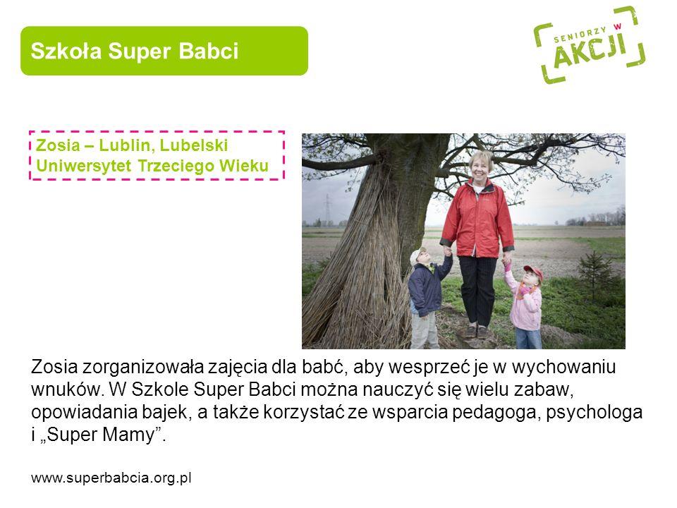 Szkoła Super Babci Zosia – Lublin, Lubelski Uniwersytet Trzeciego Wieku.