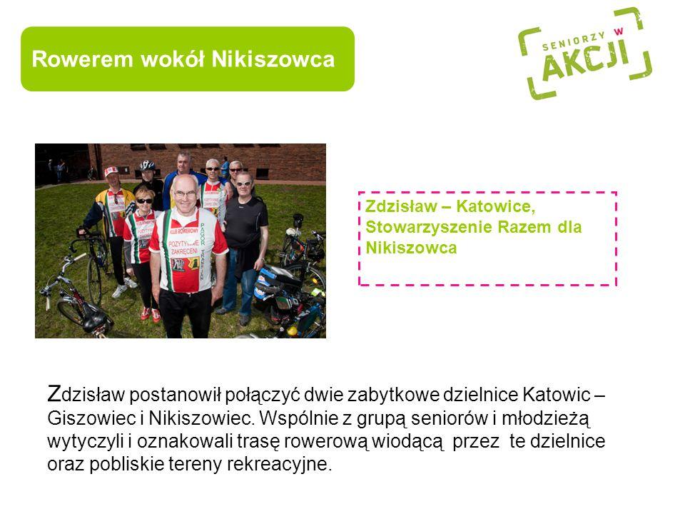 Rowerem wokół Nikiszowca