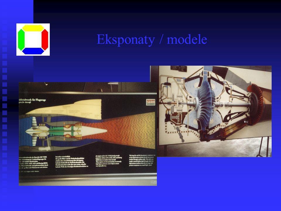 Eksponaty / modele