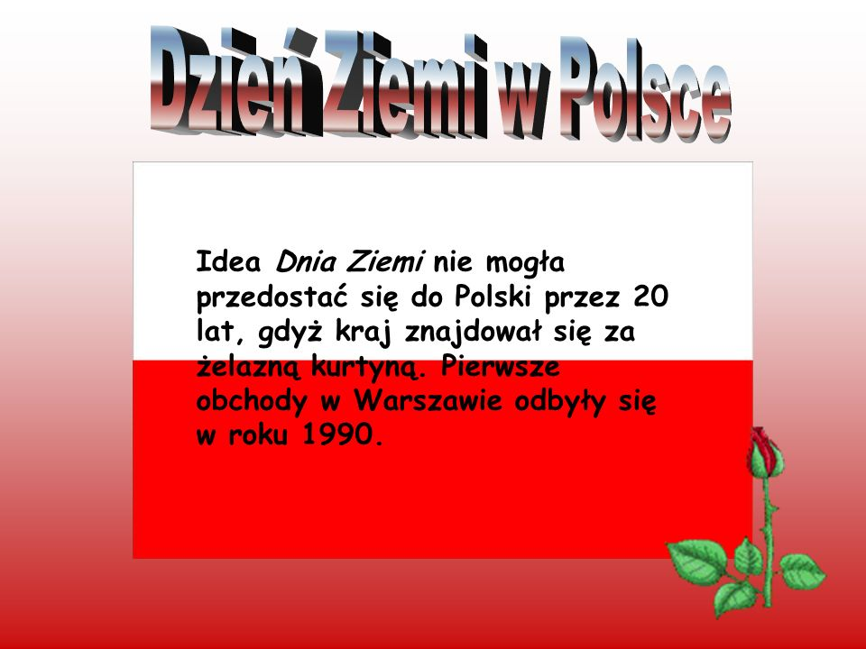 Dzień Ziemi w Polsce