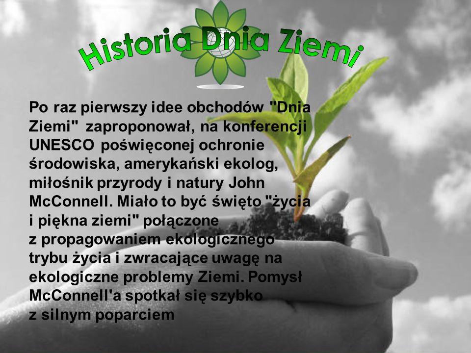 Historia Dnia Ziemi