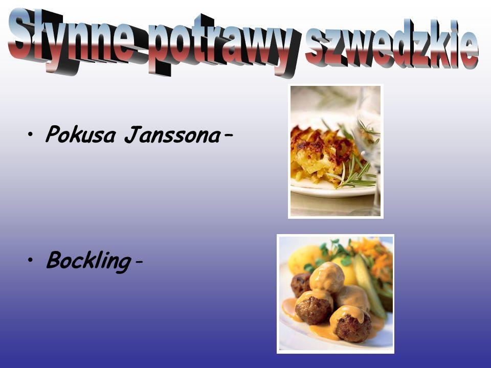 Słynne potrawy szwedzkie