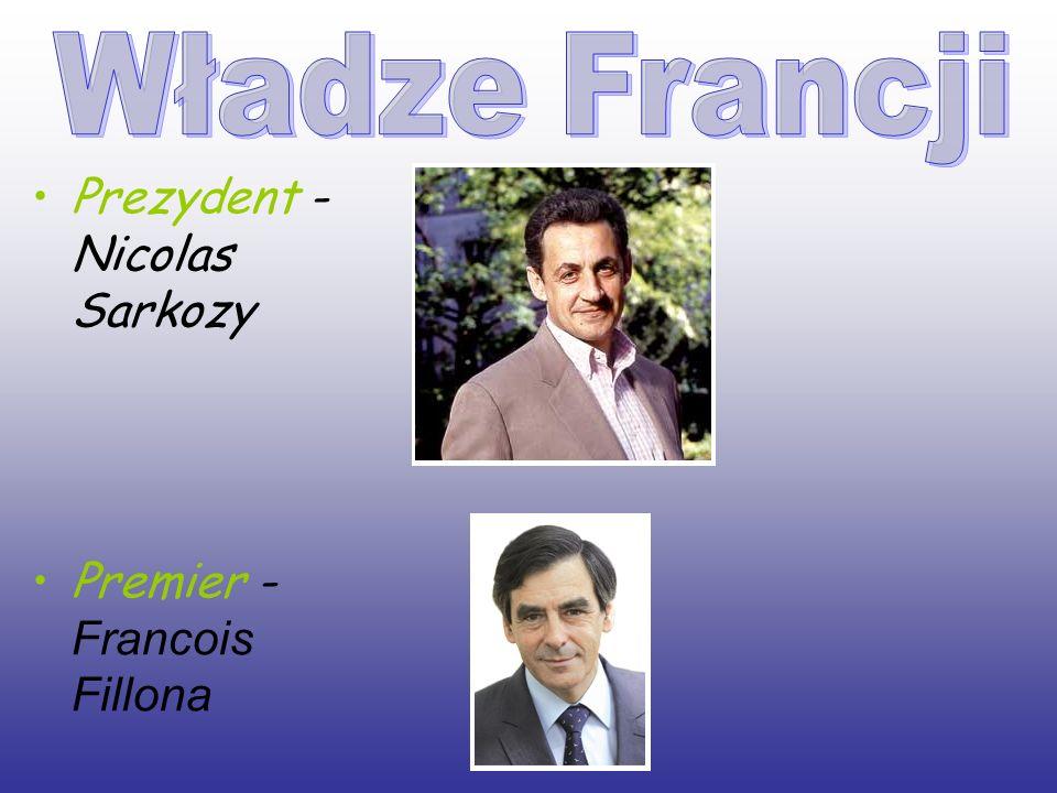 Prezydent - Nicolas Sarkozy
