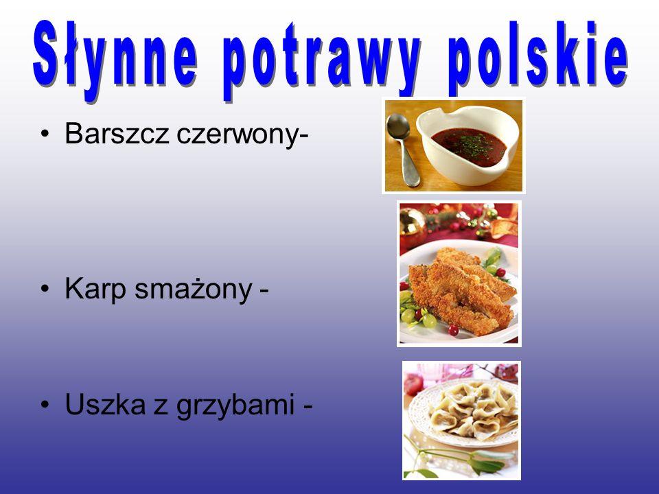 Słynne potrawy polskie