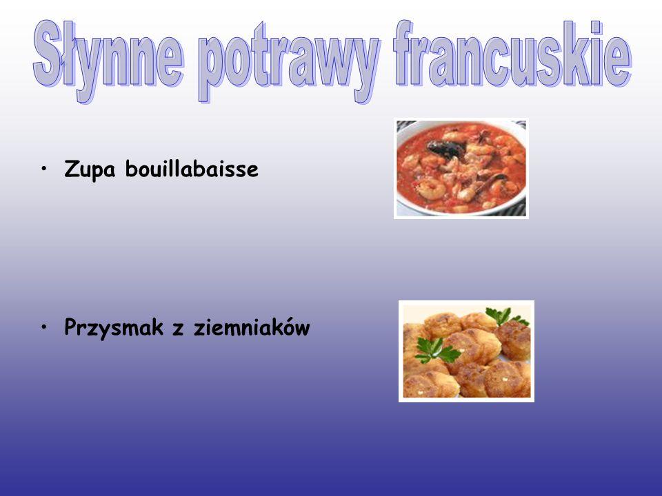 Słynne potrawy francuskie