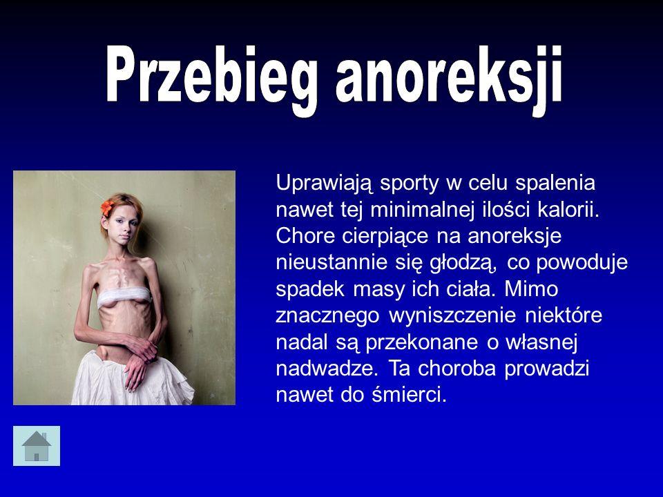 Przebieg anoreksji