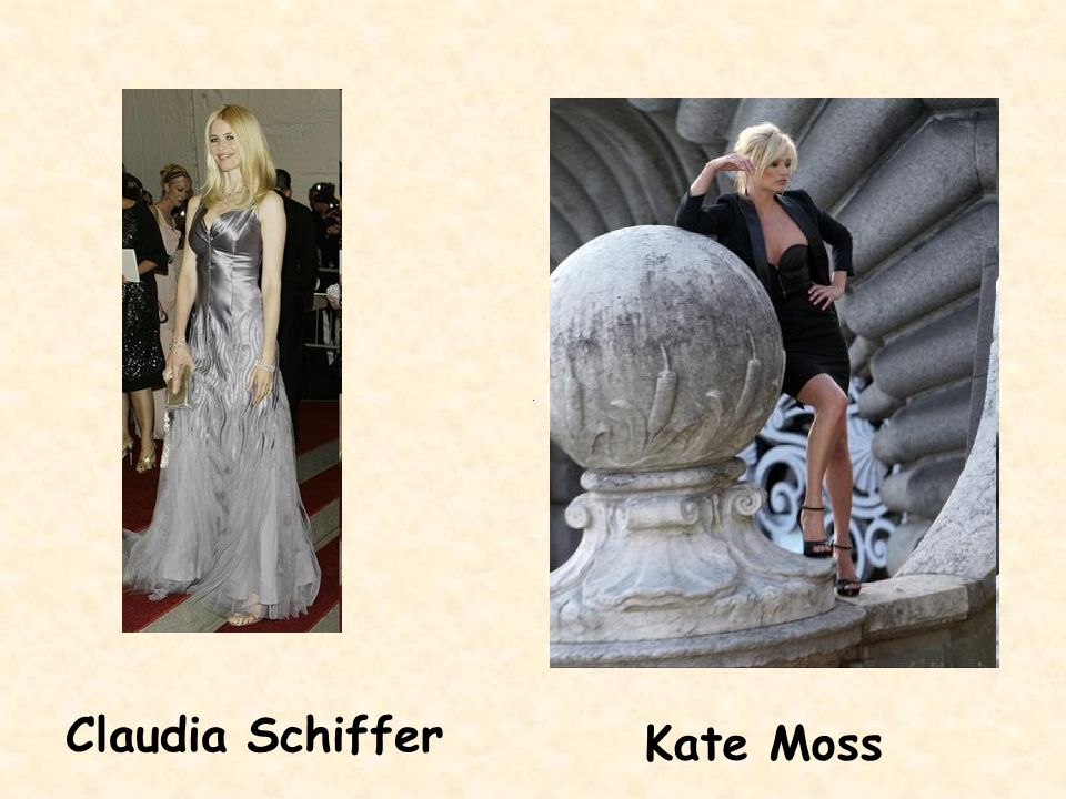 Claudia Schiffer Kate Moss