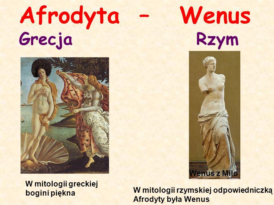 Afrodyta – Wenus Grecja Rzym