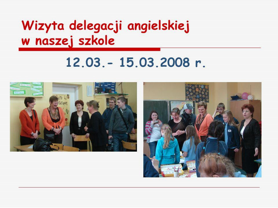 Wizyta delegacji angielskiej w naszej szkole
