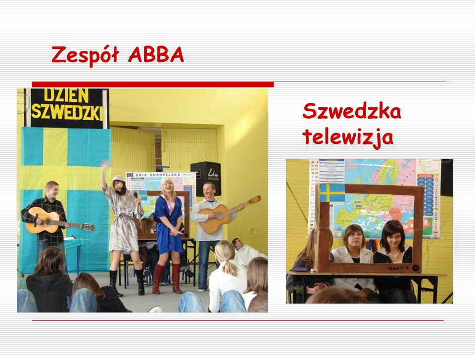 Zespół ABBA Szwedzka telewizja