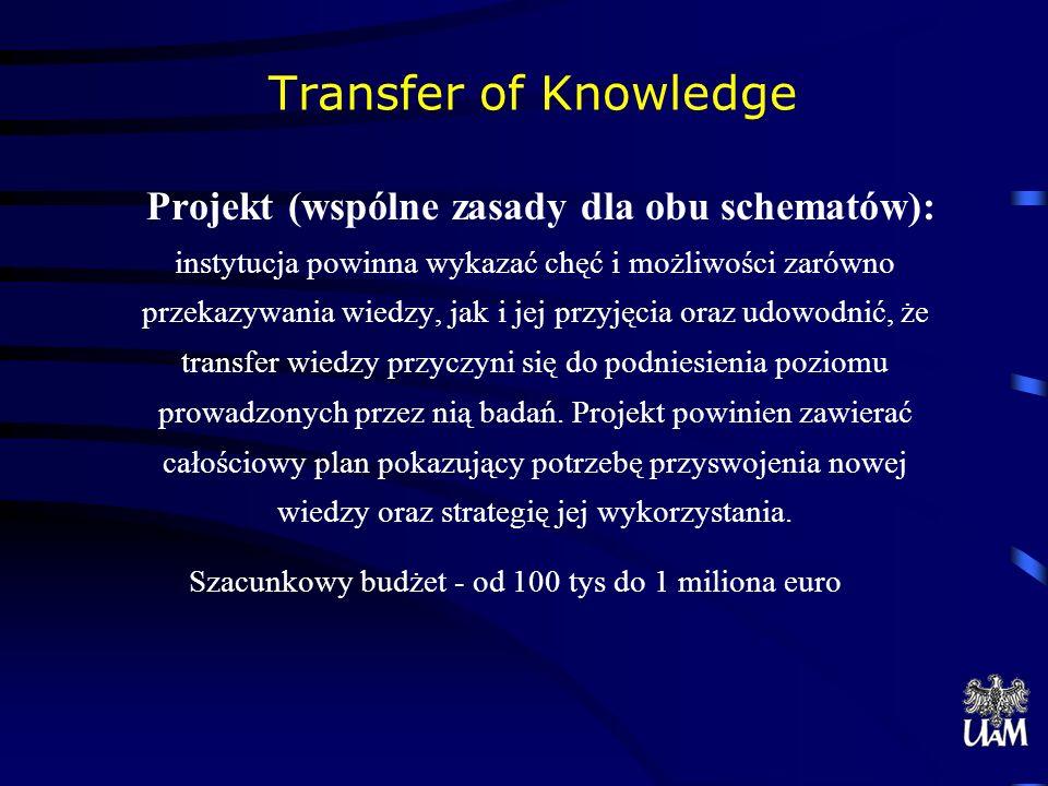 Szacunkowy budżet - od 100 tys do 1 miliona euro