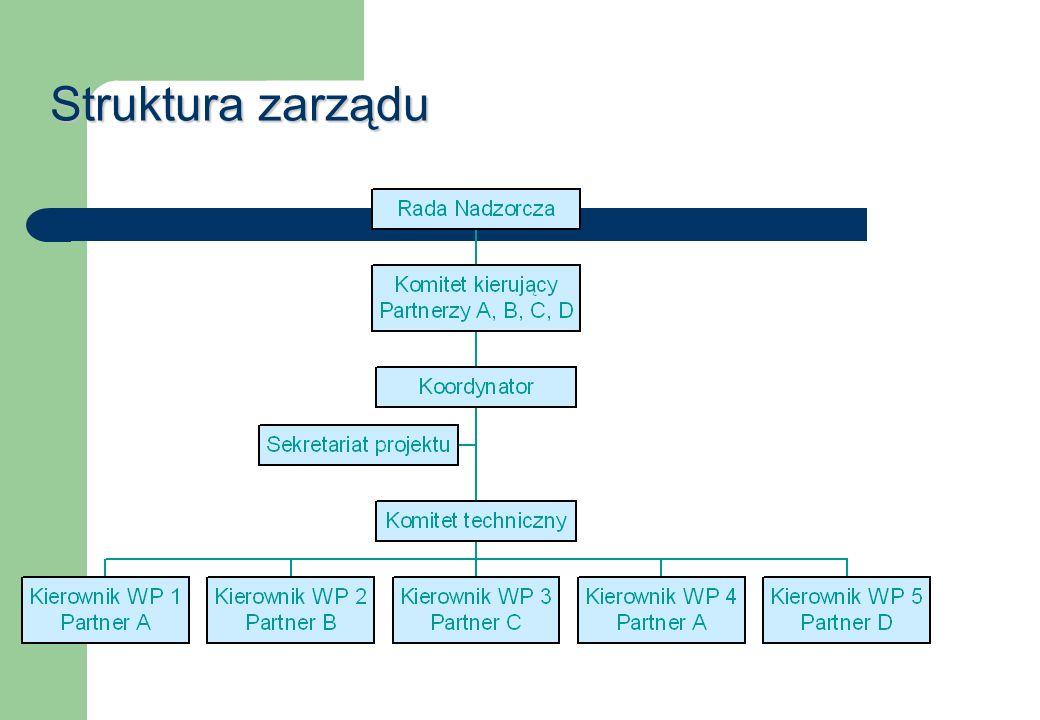 Struktura zarządu