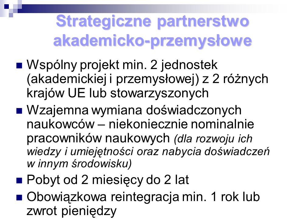 Strategiczne partnerstwo akademicko-przemysłowe