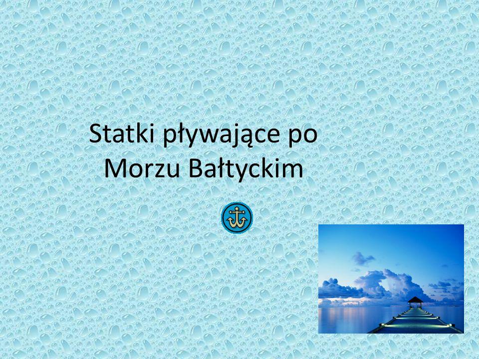 Statki pływające po Morzu Bałtyckim