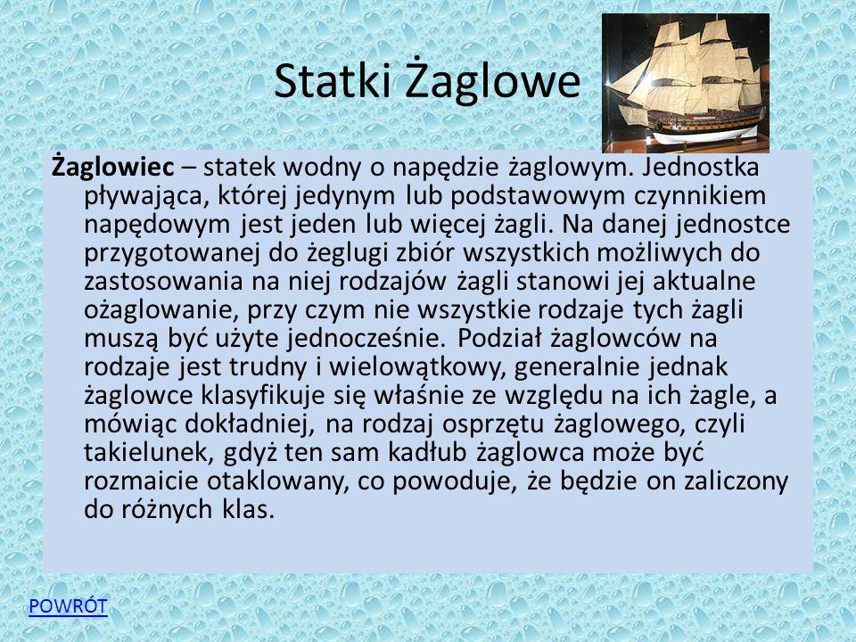 Statki Żaglowe