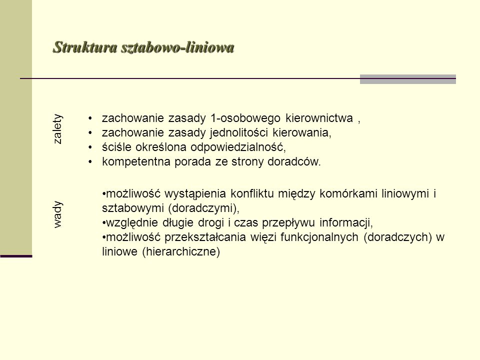 Struktura sztabowo-liniowa