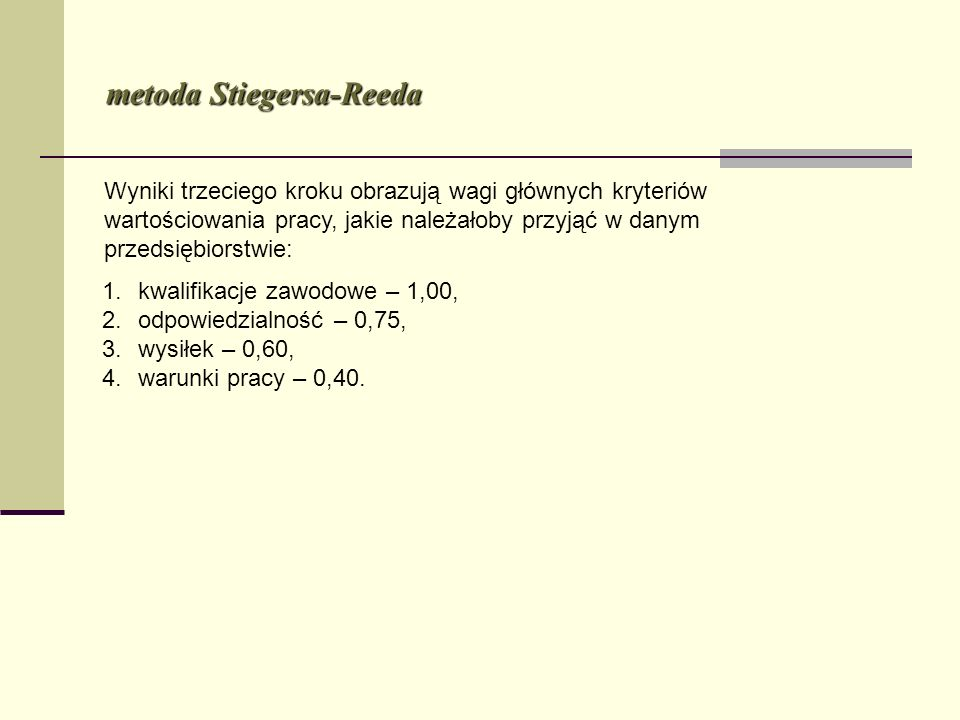 metoda Stiegersa-Reeda