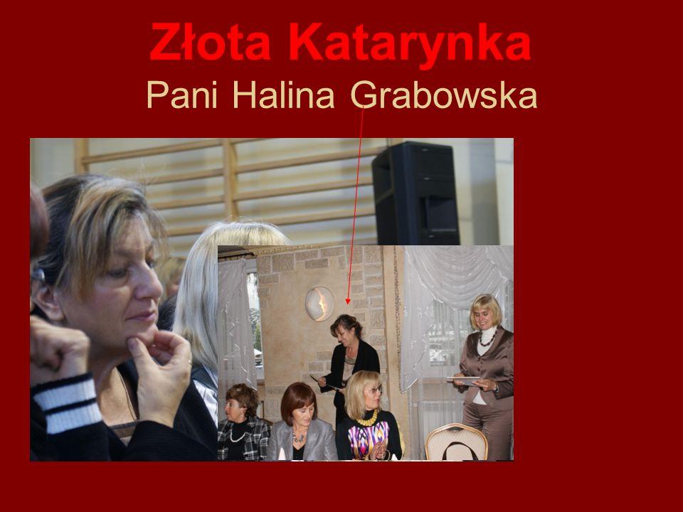 Złota Katarynka Pani Halina Grabowska