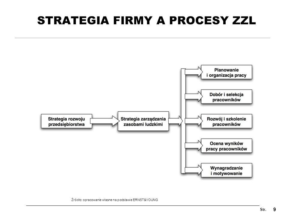 STRATEGIA FIRMY A PROCESY ZZL