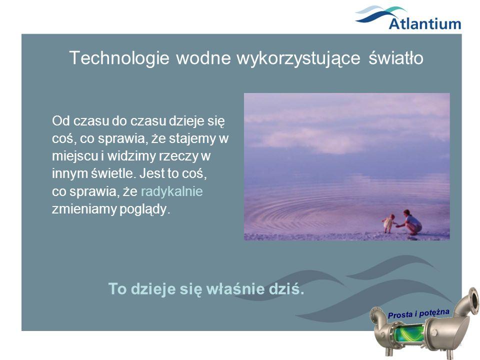 Technologie wodne wykorzystujące światło