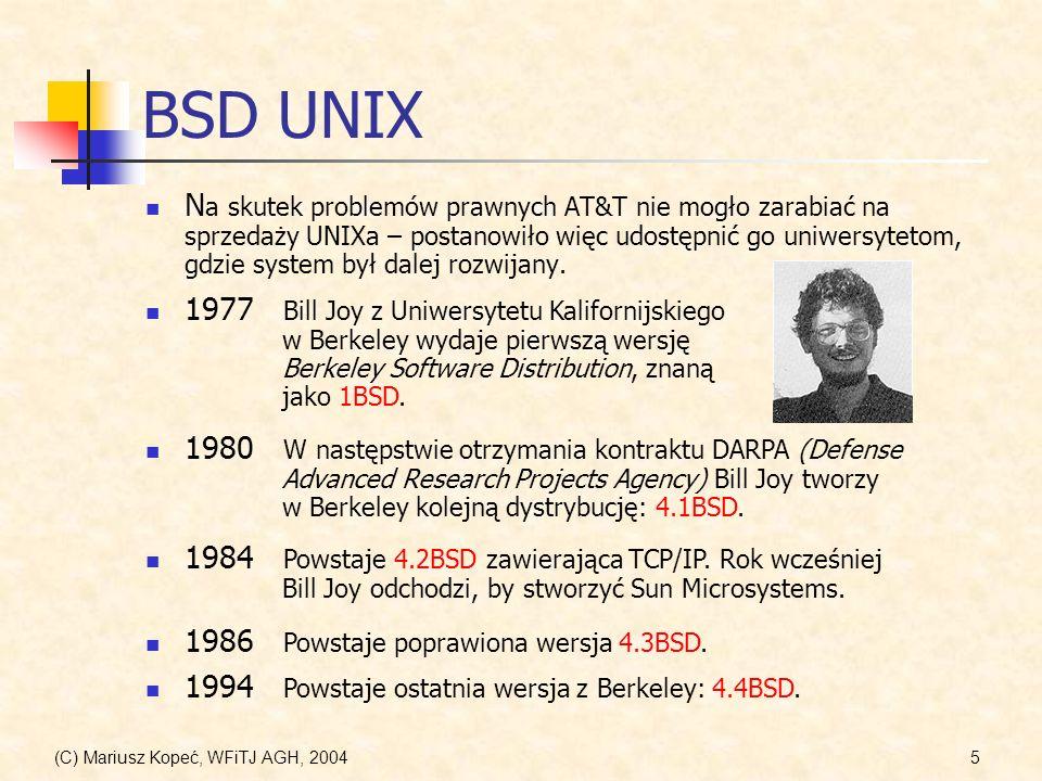 BSD UNIX