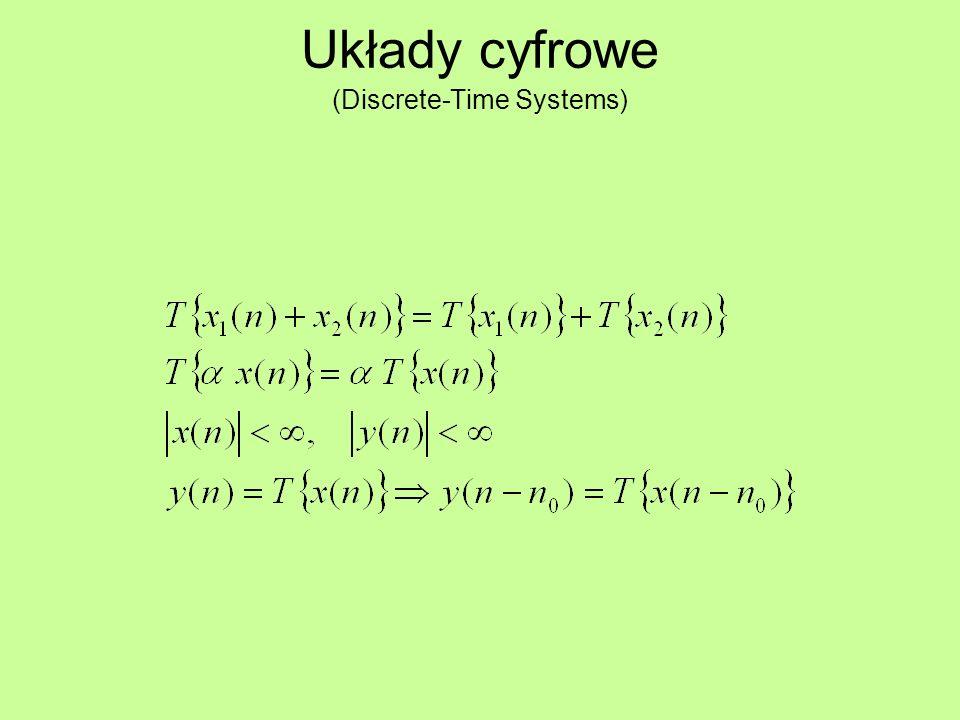 Układy cyfrowe (Discrete-Time Systems)