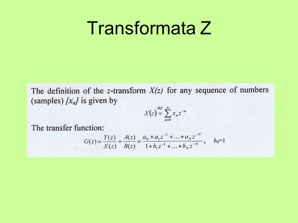 Transformata Z