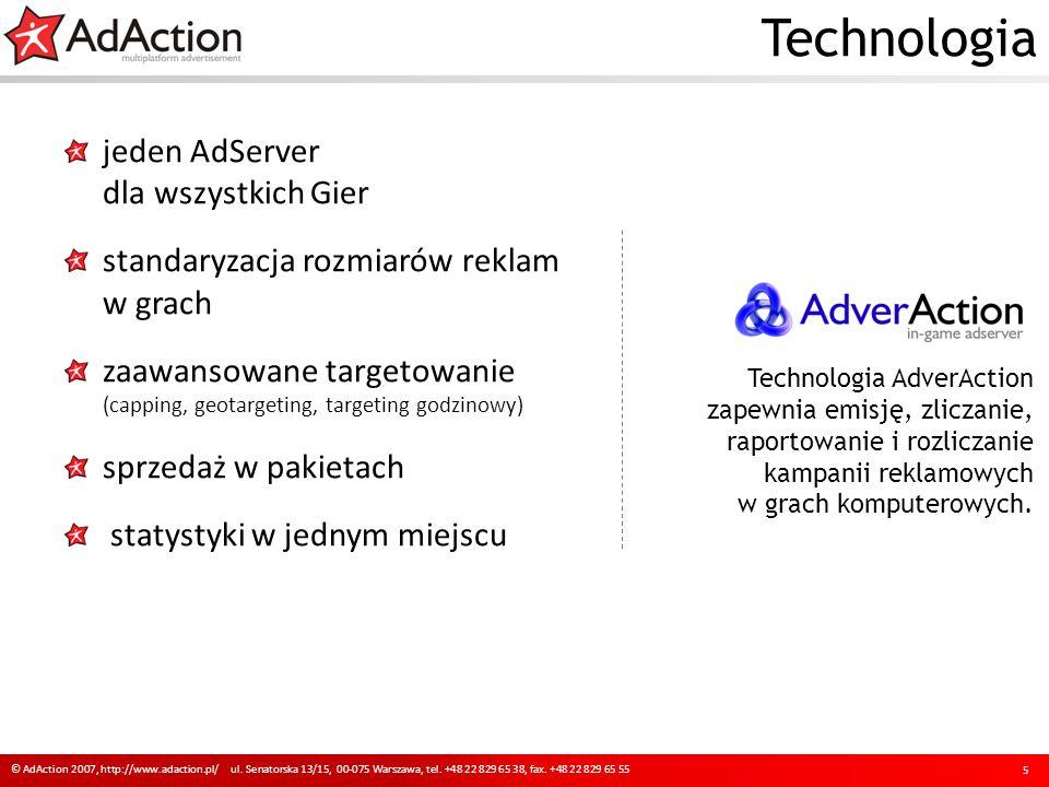 Technologia jeden AdServer dla wszystkich Gier